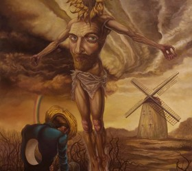 David Van Gough-so lie there my art