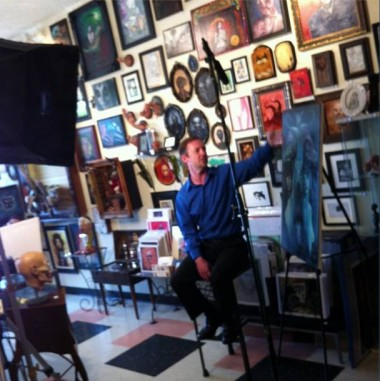 serial killer culture david van gough filming