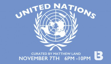united nations banner