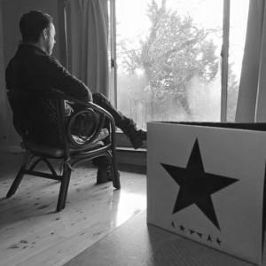 listening to blackstar