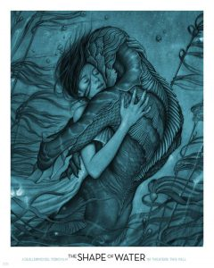 Shape of Water poster by James Jean