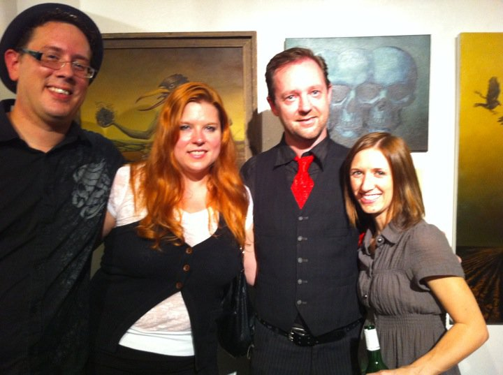 My wife Lani and her awesome cousin Dave and his wife Amber
