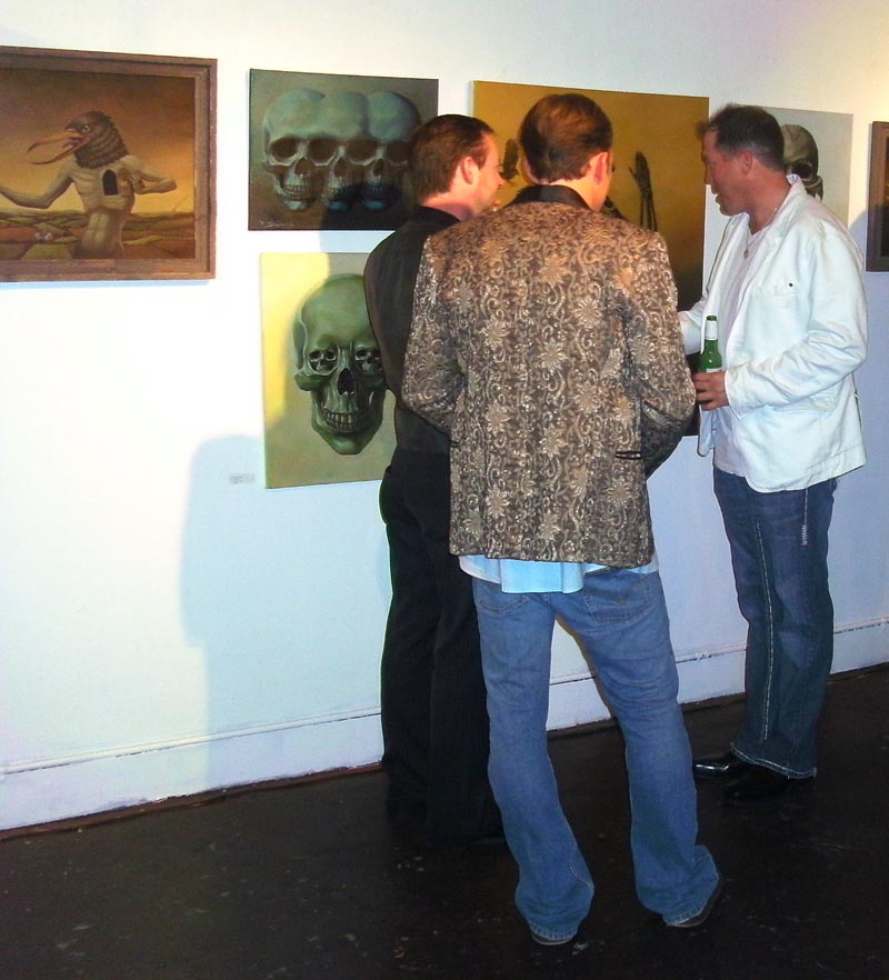 Talking Art and Religion with some patrons and artists