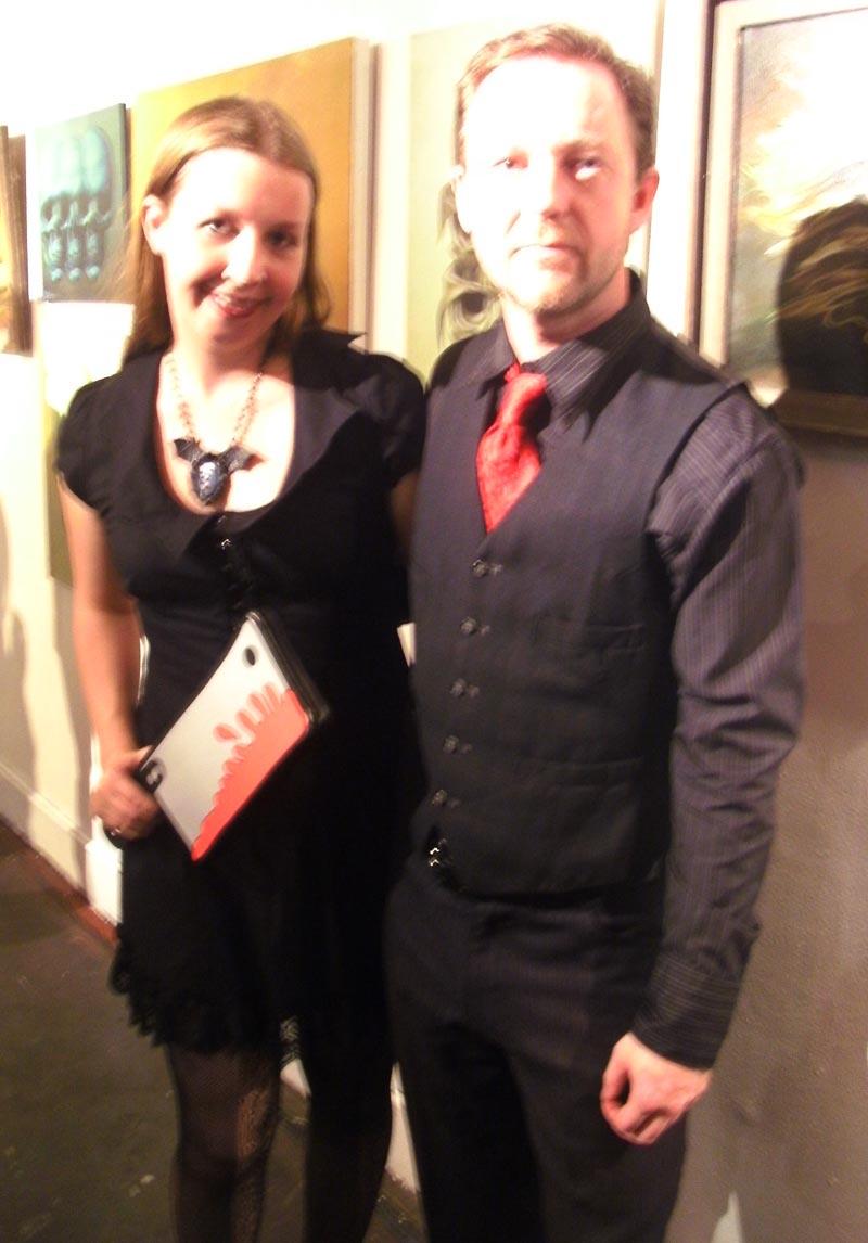 With writer Dahlia Jane